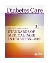 ADA Standards of Care 2019